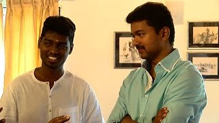 Actor Vijay's New Movie Launch -Director Atlee & Producer Kalaipuli S. Thanu Talks About Vijay