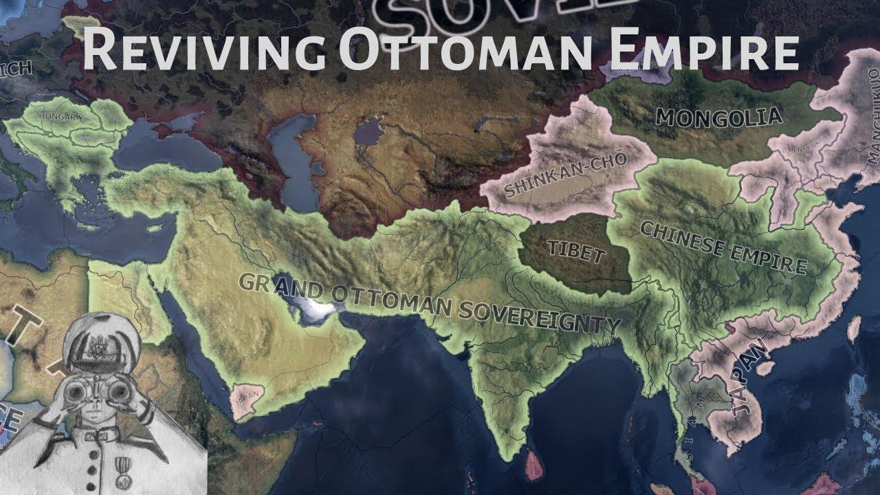 Reviving Ottoman Empire! (Hoi4 Timelapse/Speedrun)