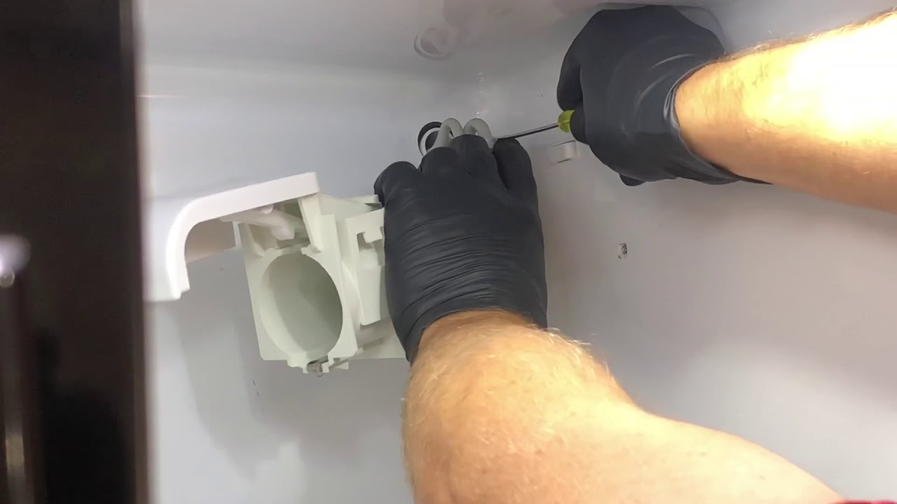 How to repair fridge water dispenser WPW10394053 hammering noise