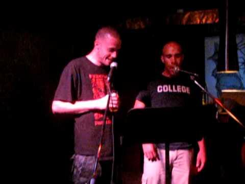 Nick Mann feat SlowBe Nas  Represent Hip Hop Karaoke Guelph