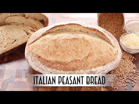 Italian Peasant Bread | Poolish Method