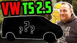 Unser neuer LIEFERWAGEN! - VW T5 2.5l 5Zyl TURBO Diesel - Low Budget Tuning!