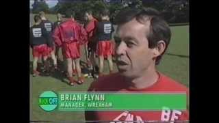 Brentford 0 Wrexham 2 - 1994/95 season plus Brian Flynn interview