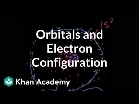 More on orbitals and electron configuration | Chemistry | Khan Academy