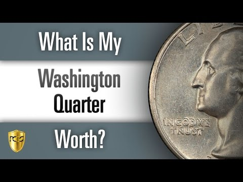 What is my Washington Quarter Worth?