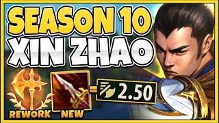 *INSTANT KNOCKUP* NEW SEASON 100% BROKE XIN ZHAO (CRAZIEST 1V5) - League of Legends
