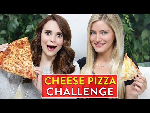 CHEESE PIZZA CHALLENGE ft iJustine!