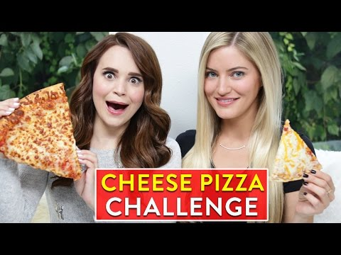 Thumbnail: CHEESE PIZZA CHALLENGE ft iJustine!