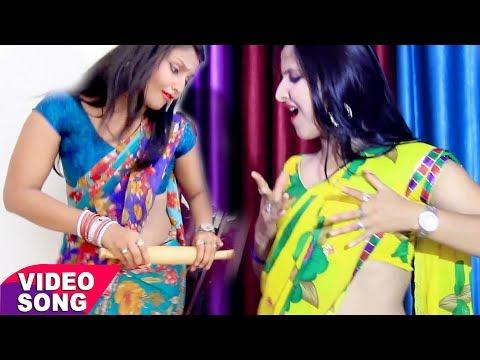 Bhojpuri का नया सबसे हिट गीत 2017 - मोटका बेलनवा घुसावे - Rocky Rockstar - Bhojpuri Hit Songs 2017