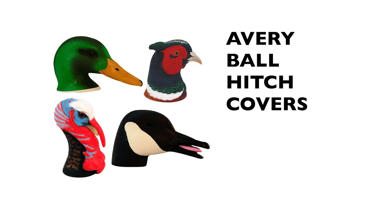 2 Ball Hitch >> Avery Ball Hitch Covers - YouTube