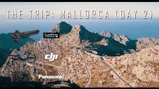 *4k UHD* Dangerous Road Trip - DJI Mavic Drone  - Day 2 VLOG Mallorca