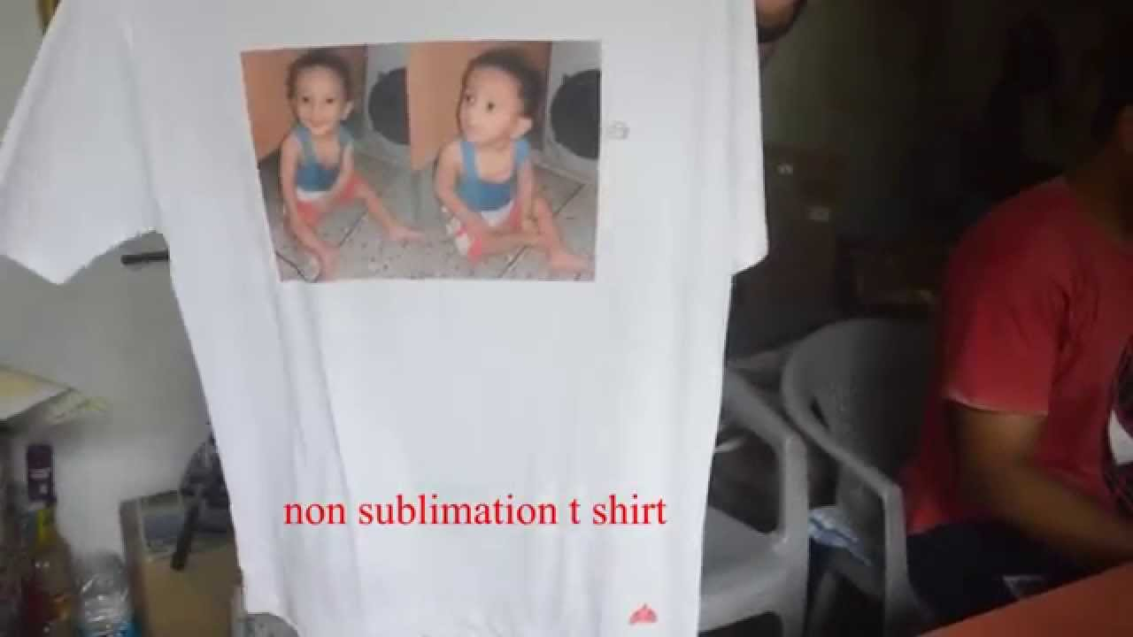 T shirt printing non sublimation t shirt heat press for T shirt printing for non profit organizations