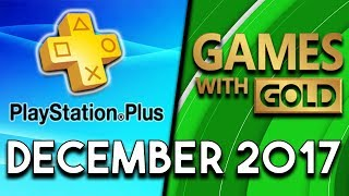 Playstation Plus Vs Xbox Games With Gold  December 2017