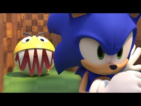Pacman Vs Sonic The Hedgehog