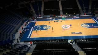 Fenerbahçe ülker vs Torku Konyaspor Türkiye Basketbol Ligi Karşılaşması öncesinde