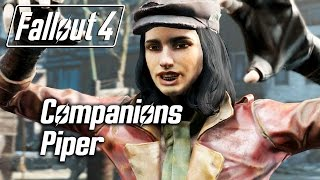 Fallout 4 - Companions - Meeting Piper