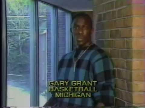 Gary Grant Says No to Drugs  NCAA PSA 1987