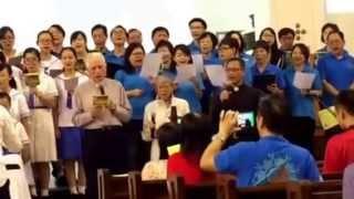 頌恩大滙唱—我是教友、我們全心感謝天主、祥、傳揚福音、和平的
