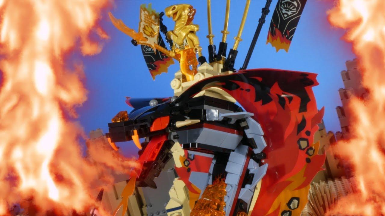 LEGO NINJAGO - FIRE FANG - YouTube