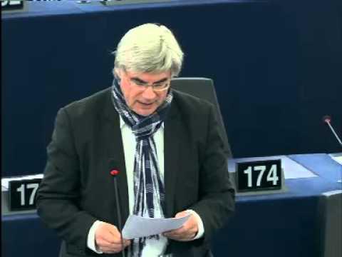 Taxe sur les transactions financières: Patrick Le Hyaric au Parlement européen le 4/02/2014