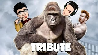 A TRIBUTE TO THE MOST BEAUTIFUL GORILLA: HARAMBE! ROBLOX FUNNY MOMENTS!