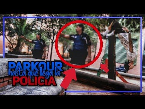 PARKOUR hasta que viene LA POLICÍA...😟 (SORPRESA al final)