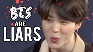 BTS ARE LIARS | not really CRACK #4
