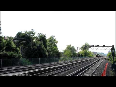 LIRR Main Line: Cannonball Express Passing Forest Hills, NY RR