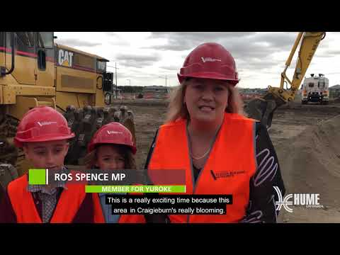 Craigieburn South Secondary College Sod Turn DRAFT
