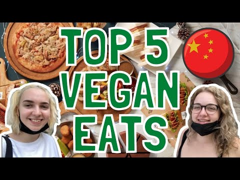 SHANGHAI'S BEST Vegan & Vegetarian Restaurants | Life in China Vlog 2021