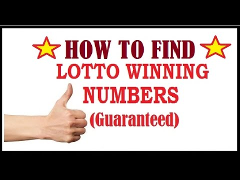 How to Find Your winning Lottery Numbers to win Daily (Guaranted)