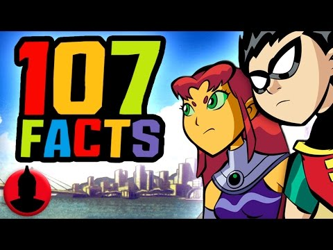 107 Teen Titans Facts YOU Should Know!  Cartoon Hangover