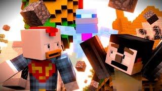 Minecraft Animation | Jurassic Craft: The Killer Chicken! (Dinosaur Animation)