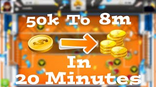 How to Make 8 Millions Coins In 20 Minutes Without Lose Any Match | Soccer Stars |