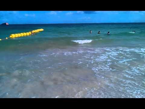 Canal de embarque y desembarque en Playa del Carmen