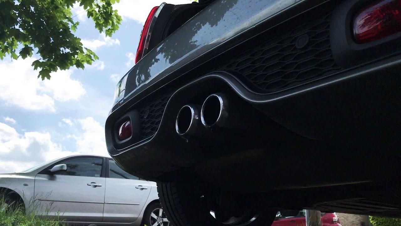Mini Cooper S Exhaust Sound Youtube