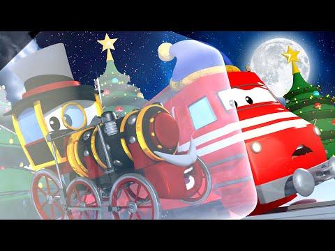El tren de CALOR CALIENTA a Lord Byron! - Troy el Tren 🎄 Dibujos animados de NAVIDAD