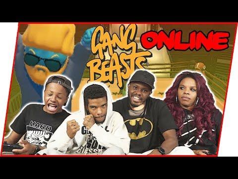 THE LAST MAN STANDING CHALLENGE ONLINE! - Gang Beasts Gameplay