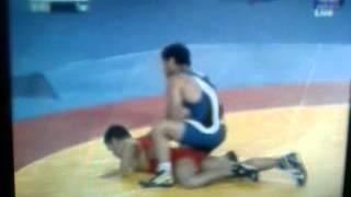 Sushil Kumar vs Qamar Abbas for gold medal. sushil win