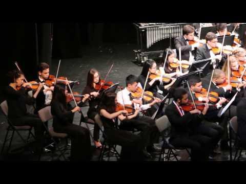 "Broward All County High School Honor Orchestra 2017. ""Millennium"""