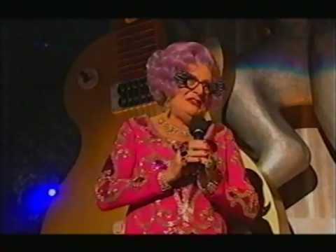 Dame Edna introduces The Queen