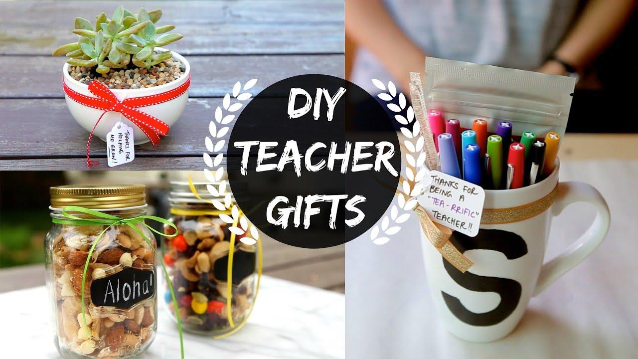 diy teacher gifts part 1 youtube