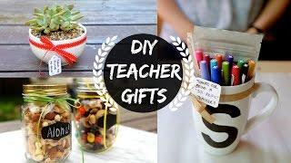 Diy Teacher Gifts  Part 1