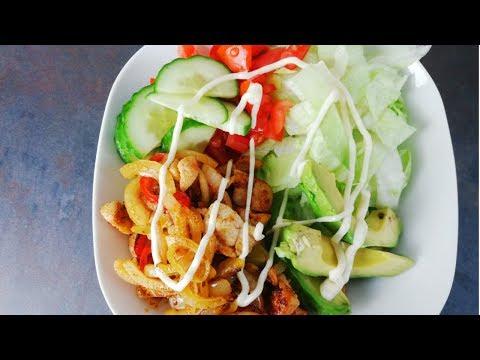 Simple, Tasty, Healthy Warm Chicken Salad