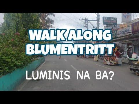 Blumentritt, Luminis Na Ba? Maging effective kaya dito ang Clean-up ni Mayor ISKO MORENO?