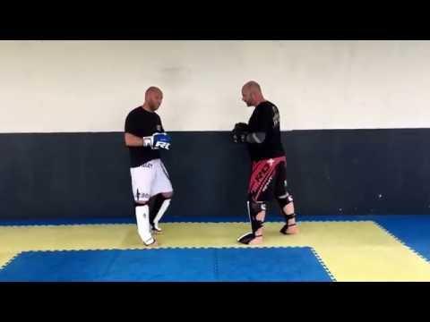 Stand up combinations - Ricky Manetta- MMA Krav Maga
