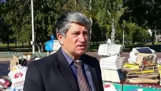 Луховичане сегодня сдавали макулатуру и спасали деревья(, 2015-09-16T13:09:25.000Z)