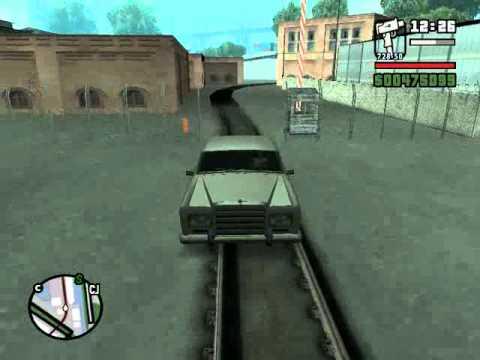 GTA San Andreas - Экспорт тачек в доках(STAFFORD)