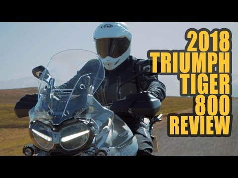 2018 Triumph Tiger 800 XRt and XCa Review