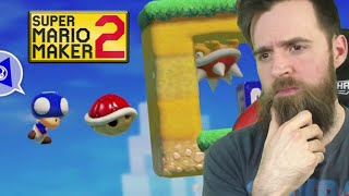 This Level is VERY Hard. Unless... [SUPER MARIO MAKER 2]